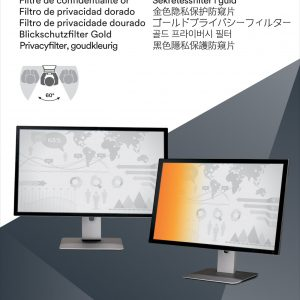 """Technical detailsTypeFrameless display privacy filterScratch-resistantYesFilter colourGoldDisplay types supportedLCDDisplay filter featuresPrivacyMinimum screen size compatibility55.9 cm (22"""")Maximum screen size compatibility55.9 cm (22"""")Aspect ratio16:10Suitable forMonitorDesignTypeFrameless display privacy filterFilter colourGoldSuitable forMonitorFeaturesTouchscreen compatibleNoPrivacy filtering orientationLandscapeDurable screen protectionYesScreen formatWidescreenScratch-resistantYesDisplay types supportedLCDDisplay filter featuresPrivacyAspect ratio16:10Protection featuresScratch resistantErgonomicsMinimum screen size compatibility55.9 cm (22"""")Maximum screen size compatibility55.9 cm (22"""")"""